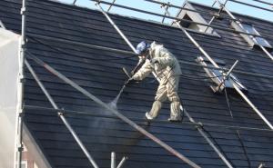 高圧屋根洗浄