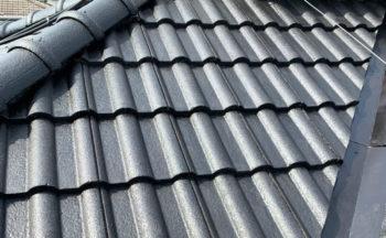 屋根仕上げナノシリコン完了