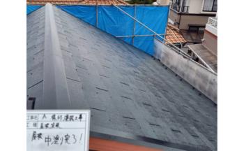 西区高須台A様邸中塗り完了